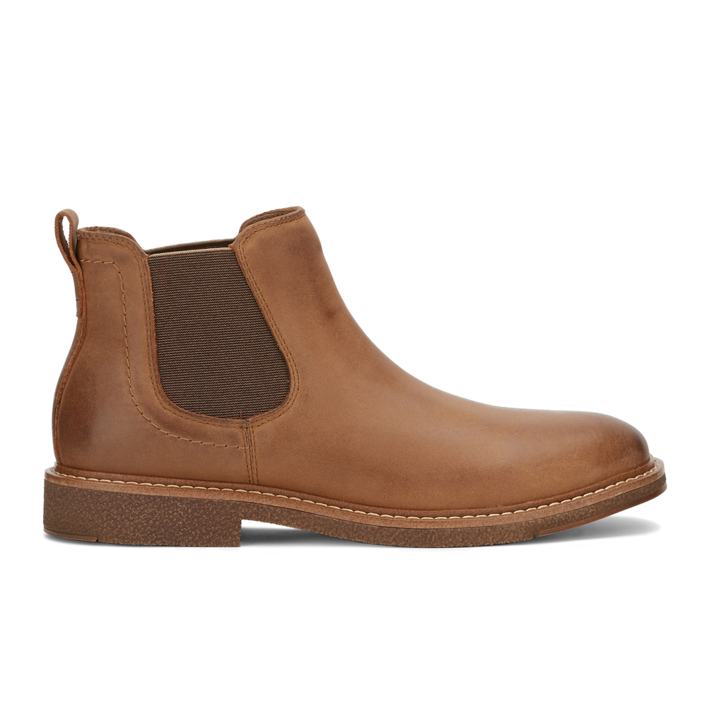 Dockers-Mens-Stanwell-Leather-Gored-Slip-on-Chelsea-Boot thumbnail 24