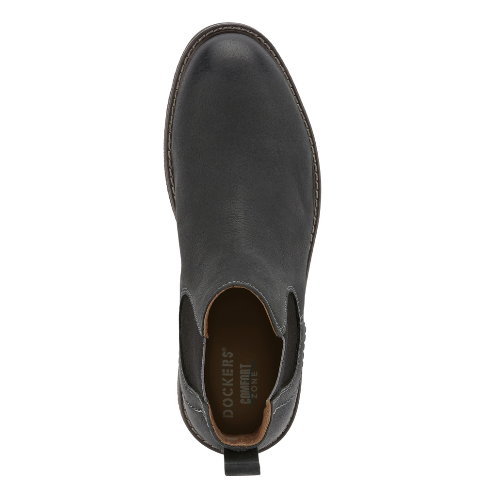 Dockers-Mens-Stanwell-Leather-Gored-Slip-on-Chelsea-Boot thumbnail 8