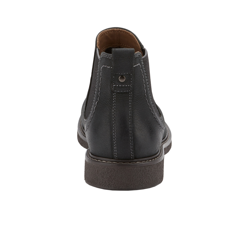 Dockers-Mens-Stanwell-Leather-Gored-Slip-on-Chelsea-Boot thumbnail 9