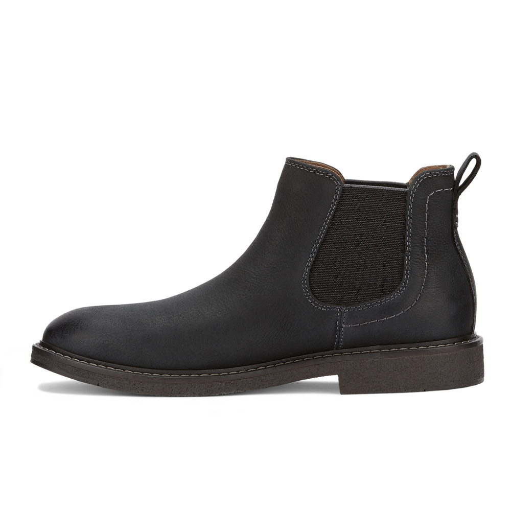 Dockers-Mens-Stanwell-Leather-Gored-Slip-on-Chelsea-Boot thumbnail 11