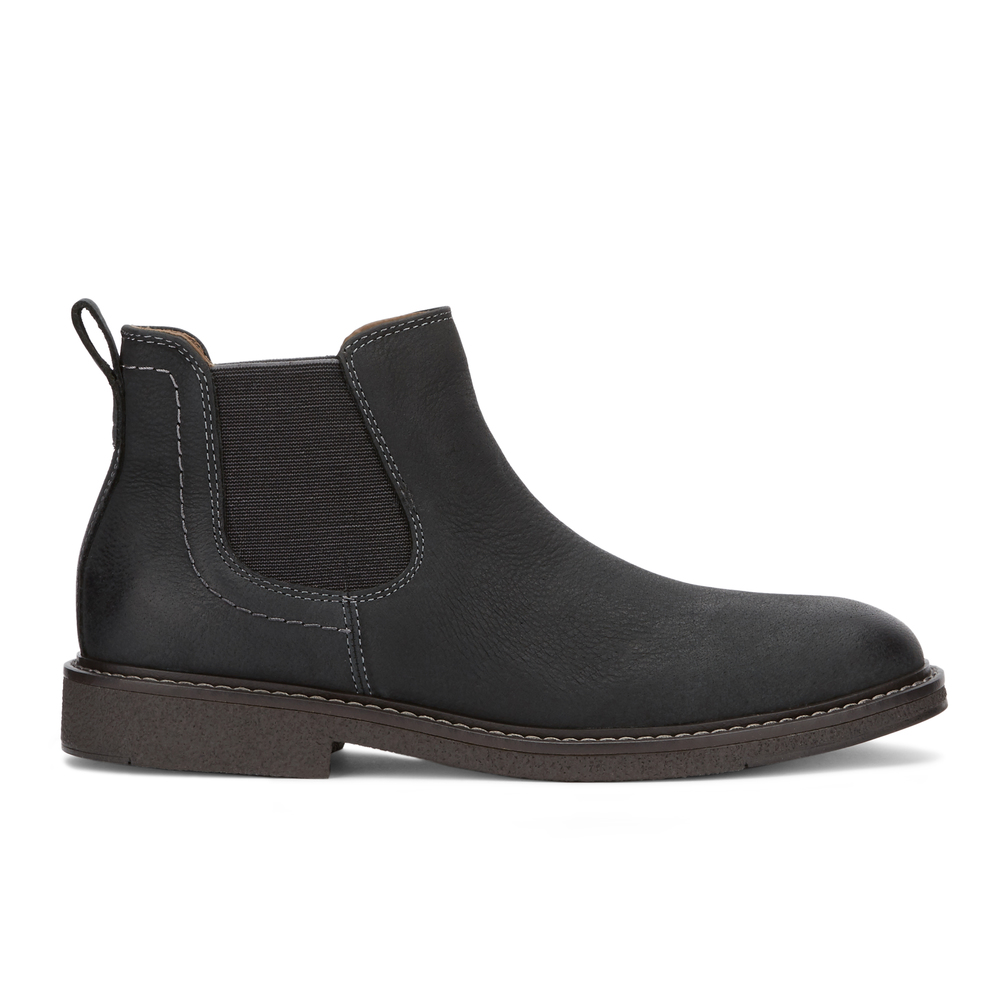 Dockers-Mens-Stanwell-Leather-Gored-Slip-on-Chelsea-Boot thumbnail 12