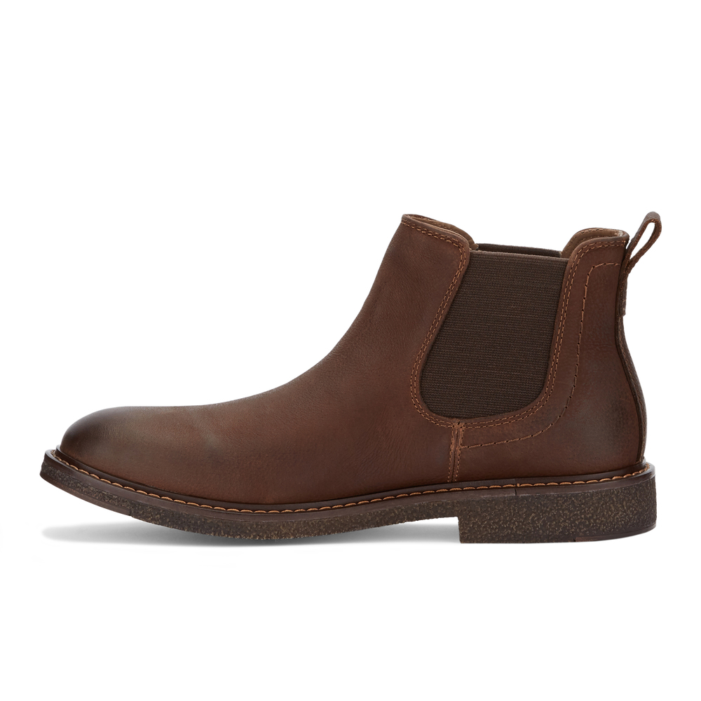 Dockers-Mens-Stanwell-Leather-Gored-Slip-on-Chelsea-Boot thumbnail 17