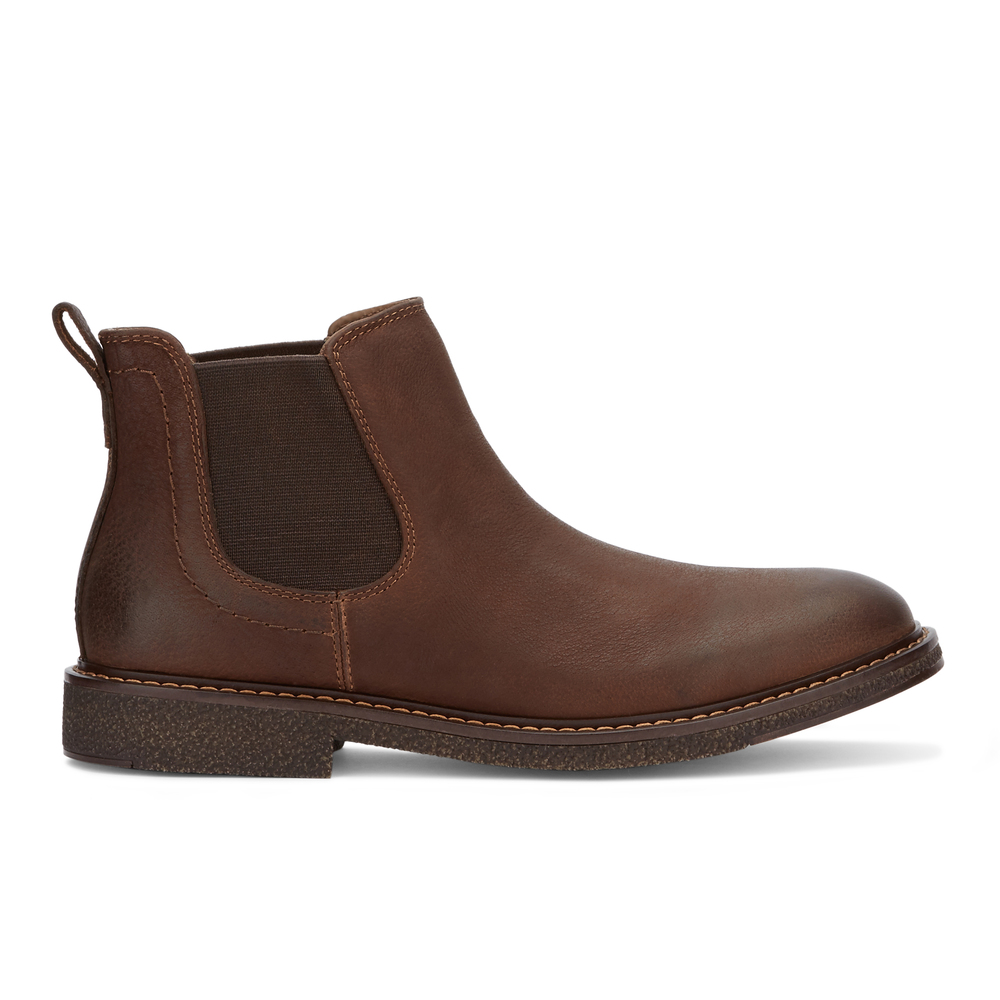 Dockers-Mens-Stanwell-Leather-Gored-Slip-on-Chelsea-Boot thumbnail 18