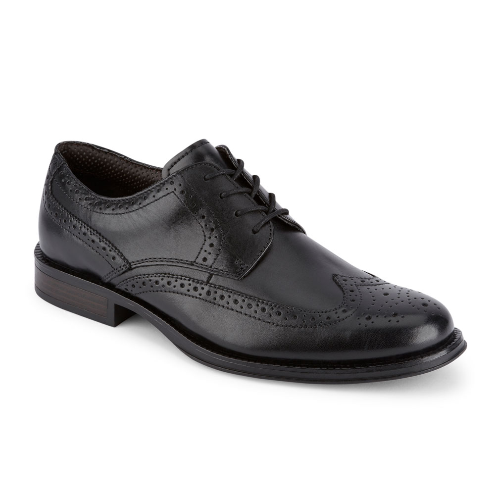 Dockers-Mens-Moritz-Brogue-Genuine-Leather-Dress-Wingtip-Lace-up-Oxford-Shoe