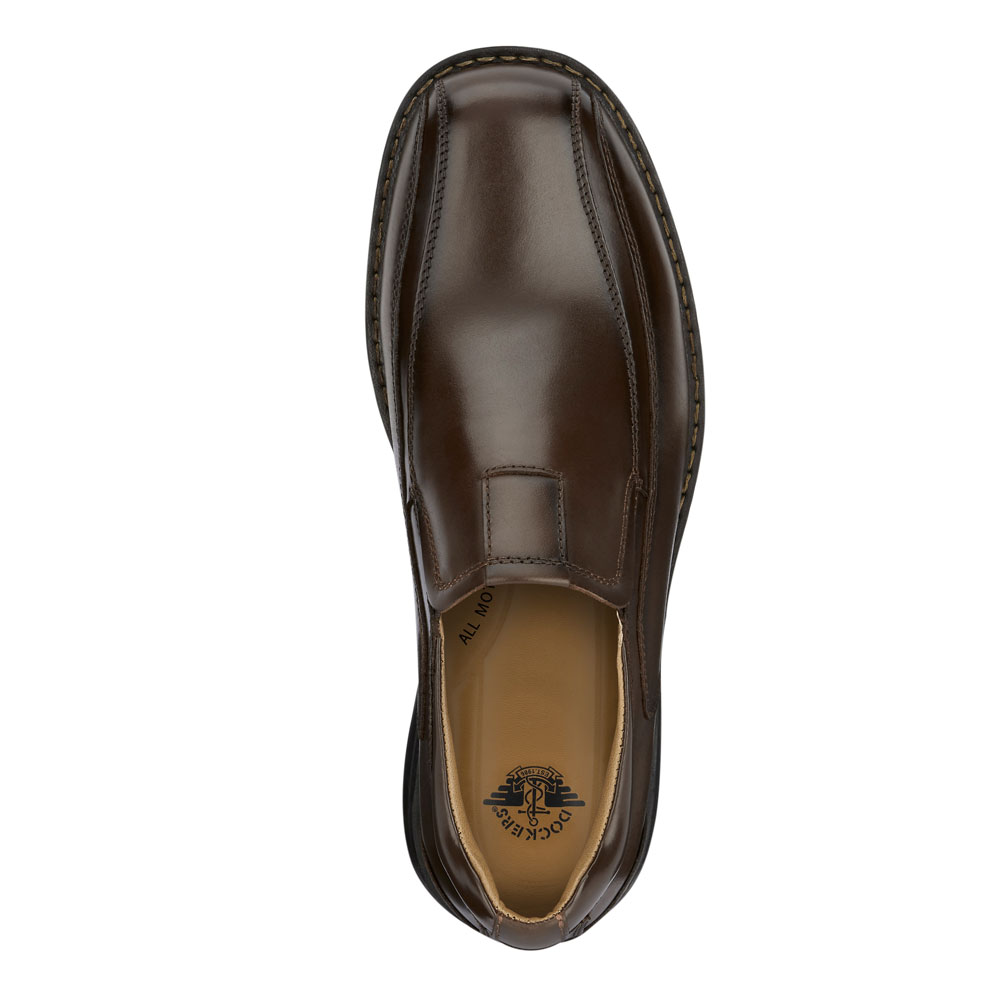 Dockers-Mens-Agent-Genuine-Leather-Dress-Casual-Slip-on-Loafer-Comfort-Shoe thumbnail 14