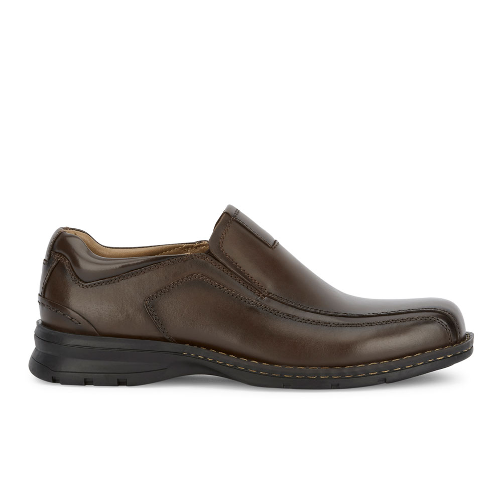 Dockers-Mens-Agent-Genuine-Leather-Dress-Casual-Slip-on-Loafer-Comfort-Shoe thumbnail 18