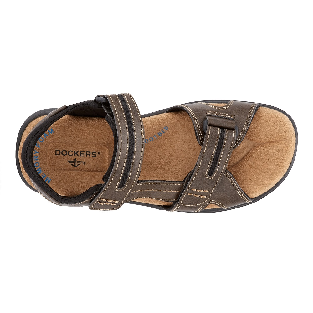 96e13a67f8f9 Dockers Mens Solano Casual Comfort Outdoor Sport Adjustable Sandal Shoe 108  ₪