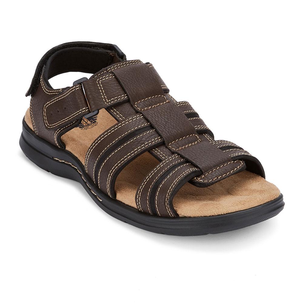 91e9860afcb2 Dockers Mens Pierpoint Casual Comfort Outdoor Fisherman Sandal Shoe ...