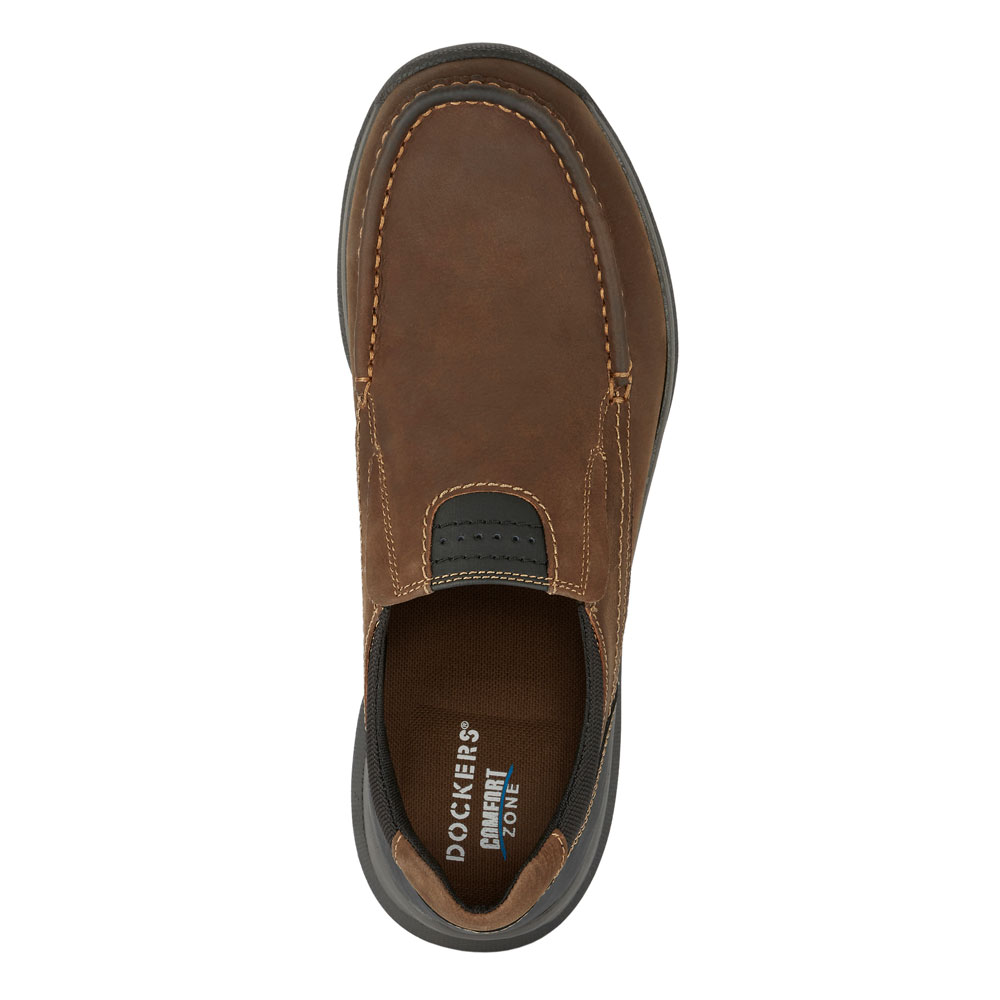 Dockers-Mens-Easley-Genuine-Leather-Rugged-Casual-Outdoor-Slip-on-Loafer-Shoe thumbnail 14