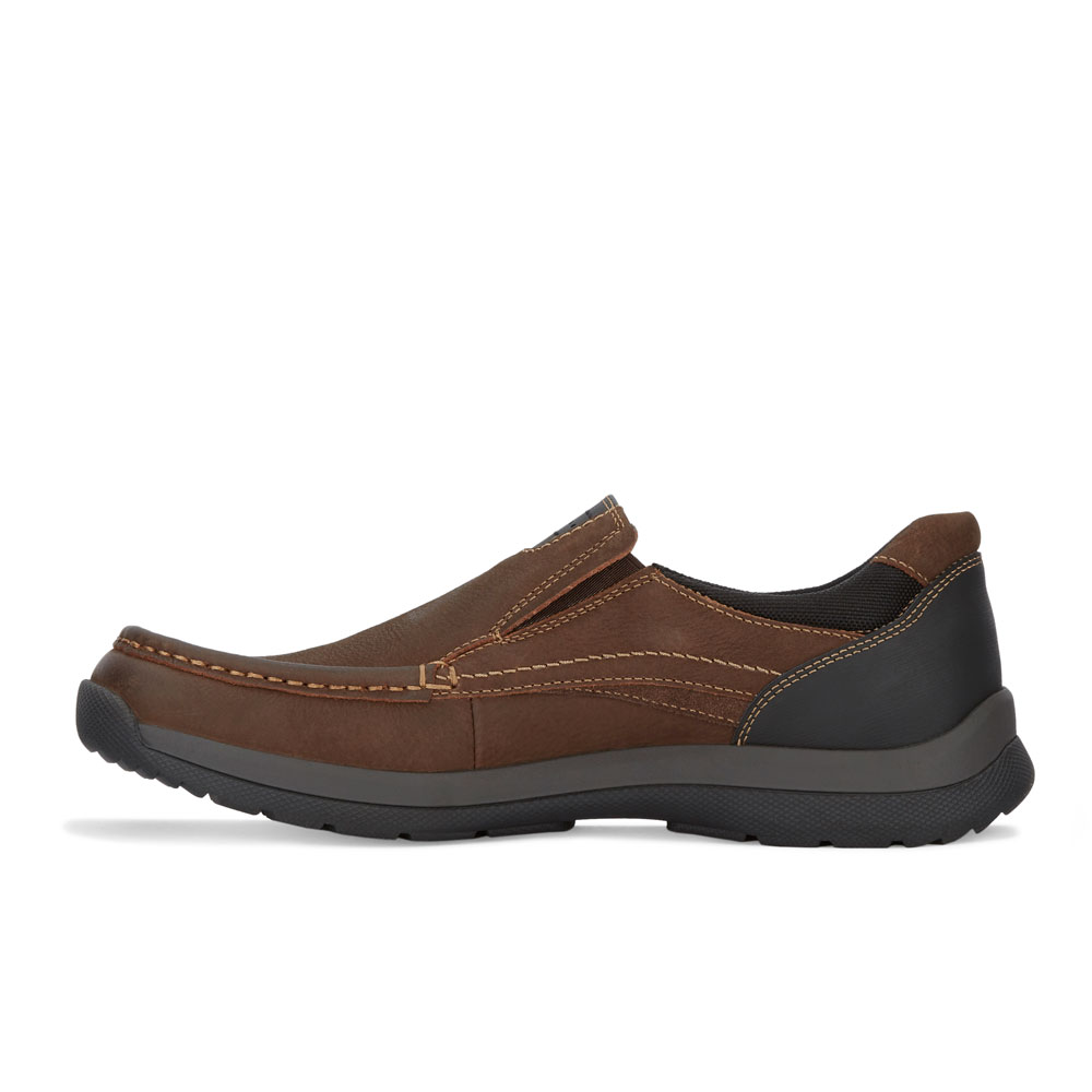 91da7a0235bc Dockers Mens Easley Genuine Leather Rugged Casual Outdoor Slip-on ...