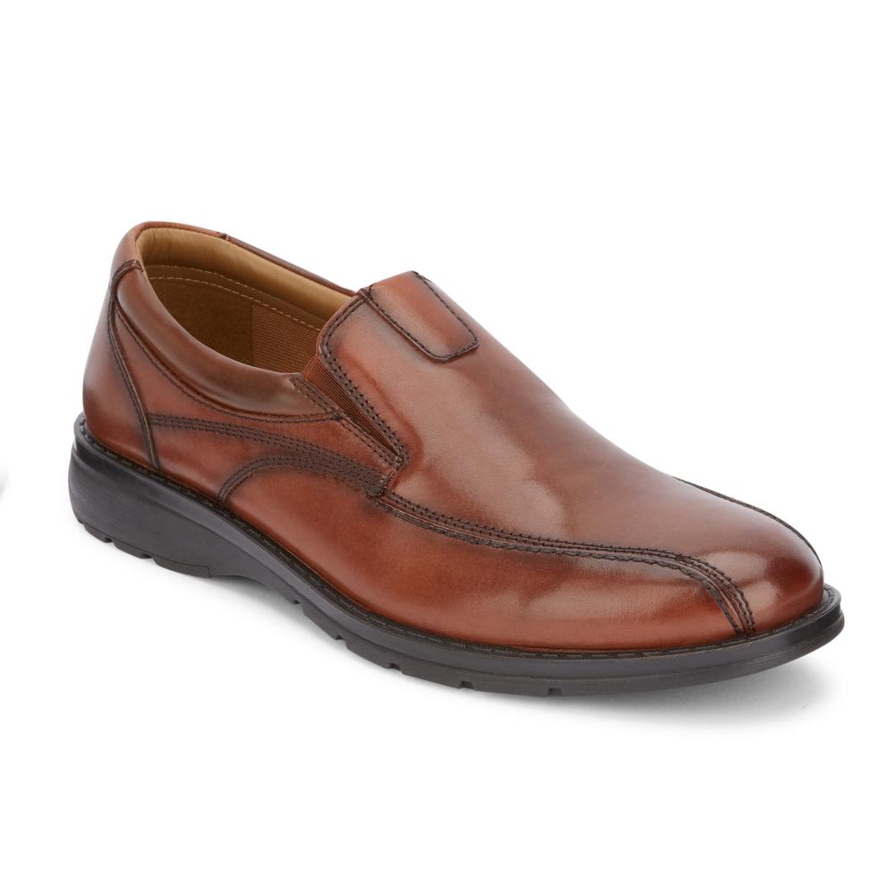 Dockers Mens Agent 2.0 Leather Slip-on Loafer