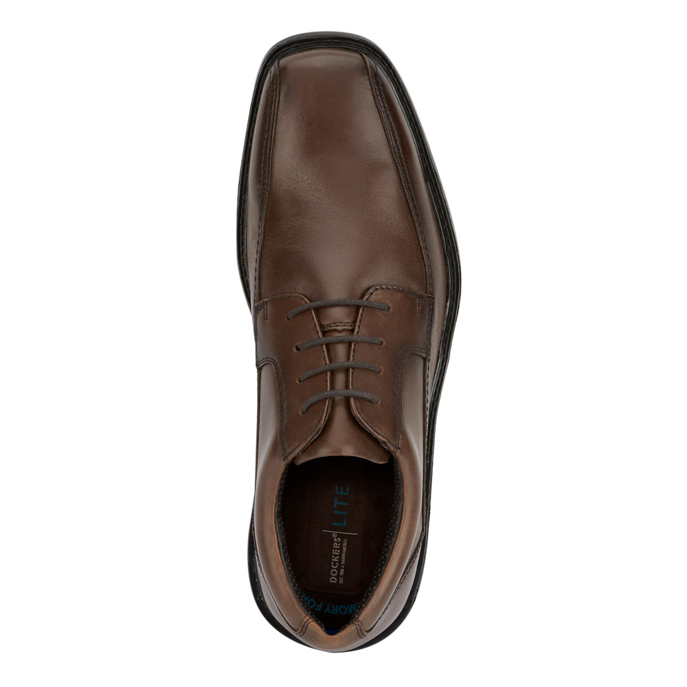 Dockers-Mens-Perry-Genuine-Leather-Business-Dress-Lace-up-Oxford-Shoe thumbnail 14
