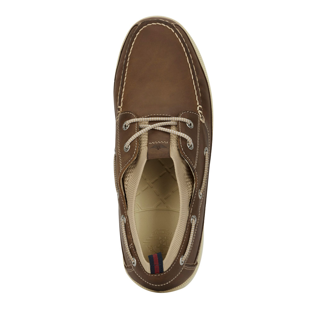 Dockers-Mens-Homer-SMART-SERIES-Leather-Boat-Shoe-4-Way-Stretch-and-NeverWet thumbnail 14