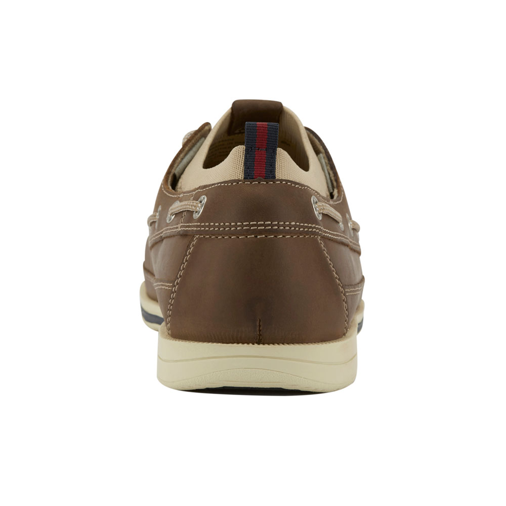 Dockers-Mens-Homer-SMART-SERIES-Leather-Boat-Shoe-4-Way-Stretch-and-NeverWet thumbnail 15