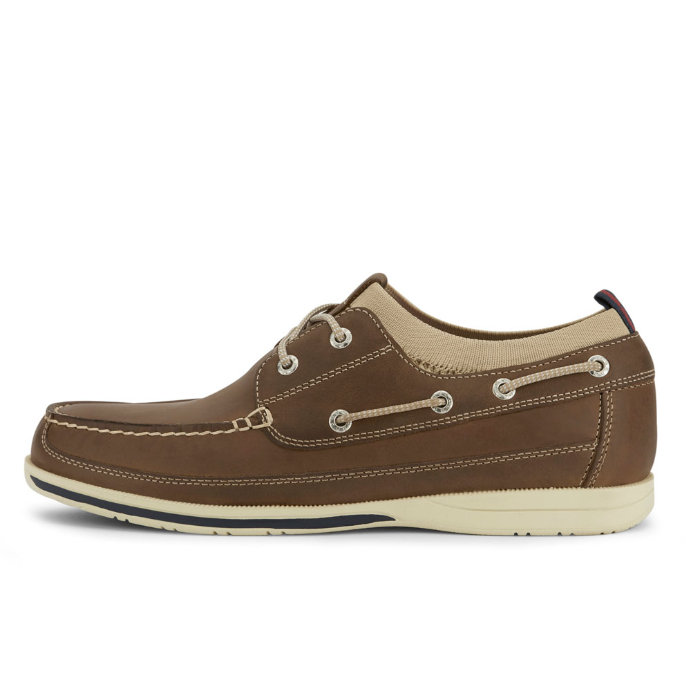 Dockers-Mens-Homer-SMART-SERIES-Leather-Boat-Shoe-4-Way-Stretch-and-NeverWet thumbnail 17