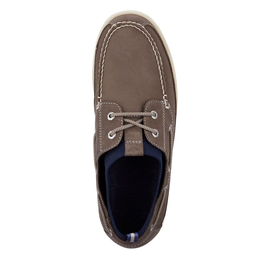 Dockers-Mens-Homer-SMART-SERIES-Leather-Boat-Shoe-4-Way-Stretch-and-NeverWet thumbnail 8
