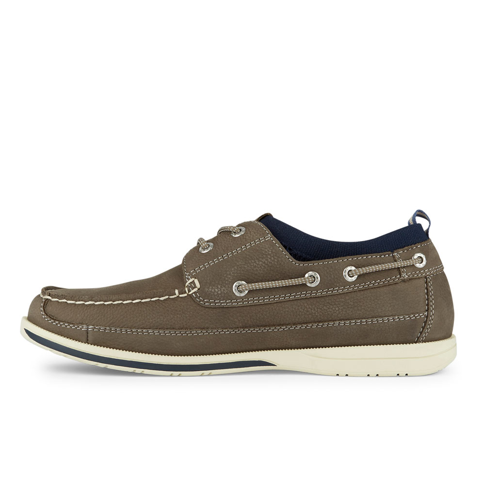 Dockers-Mens-Homer-SMART-SERIES-Leather-Boat-Shoe-4-Way-Stretch-and-NeverWet thumbnail 11