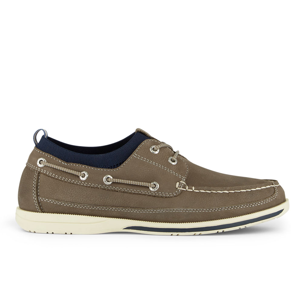 Dockers-Mens-Homer-SMART-SERIES-Leather-Boat-Shoe-4-Way-Stretch-and-NeverWet thumbnail 12