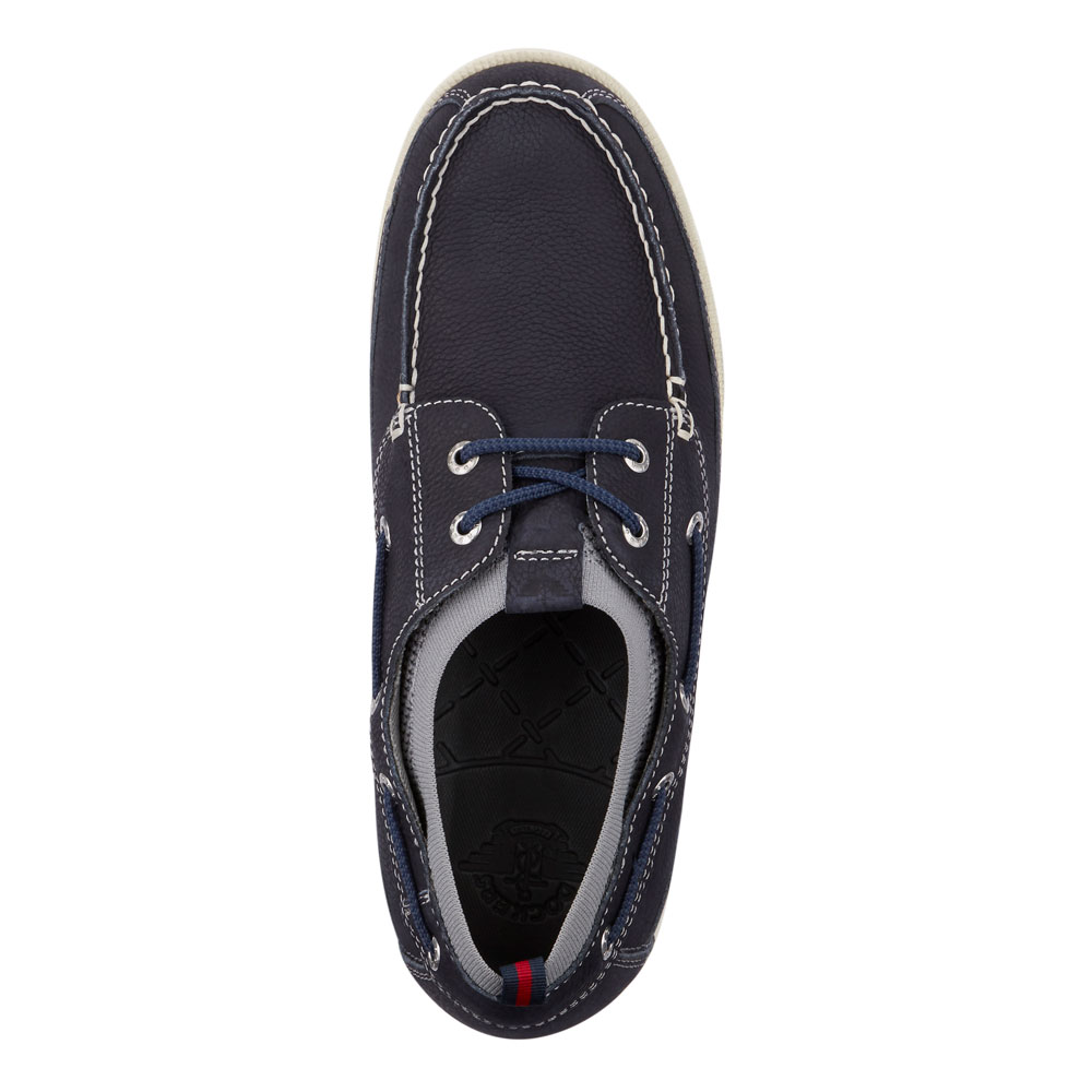 Dockers-Mens-Homer-SMART-SERIES-Leather-Boat-Shoe-4-Way-Stretch-and-NeverWet thumbnail 26