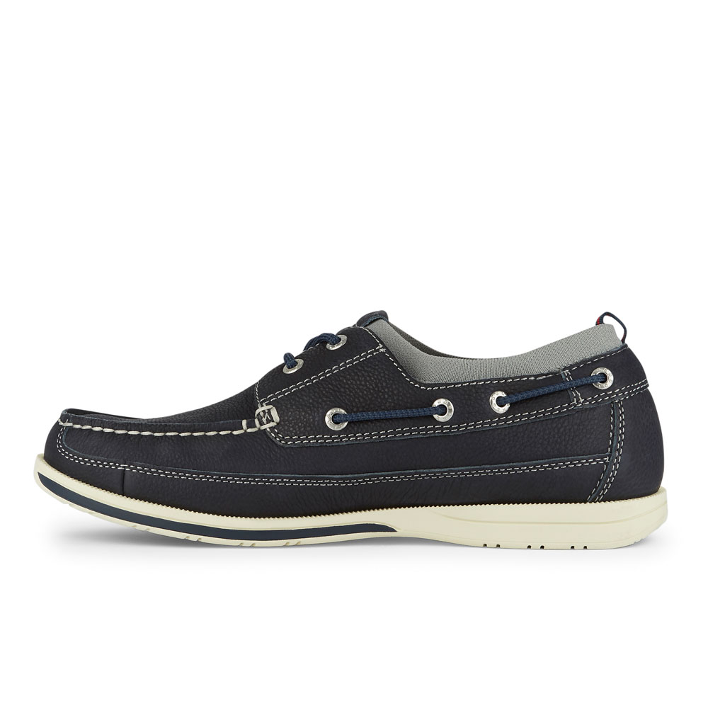 Dockers-Mens-Homer-SMART-SERIES-Leather-Boat-Shoe-4-Way-Stretch-and-NeverWet thumbnail 29
