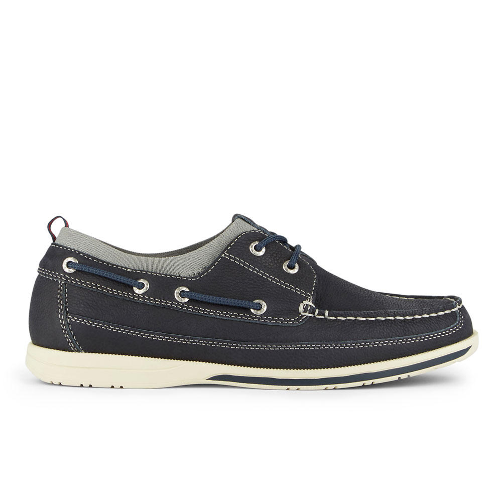 Dockers-Mens-Homer-SMART-SERIES-Leather-Boat-Shoe-4-Way-Stretch-and-NeverWet thumbnail 30
