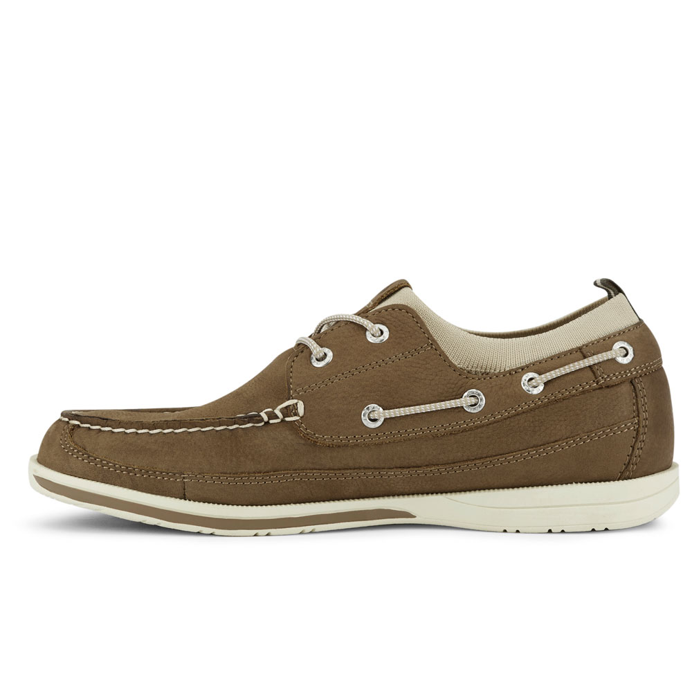 Dockers-Mens-Homer-SMART-SERIES-Leather-Boat-Shoe-4-Way-Stretch-and-NeverWet thumbnail 23