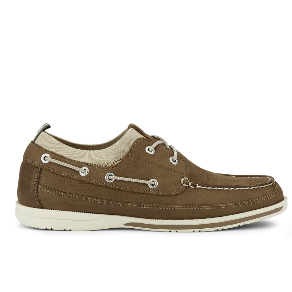 Dockers-Mens-Homer-SMART-SERIES-Leather-Boat-Shoe-4-Way-Stretch-and-NeverWet thumbnail 24
