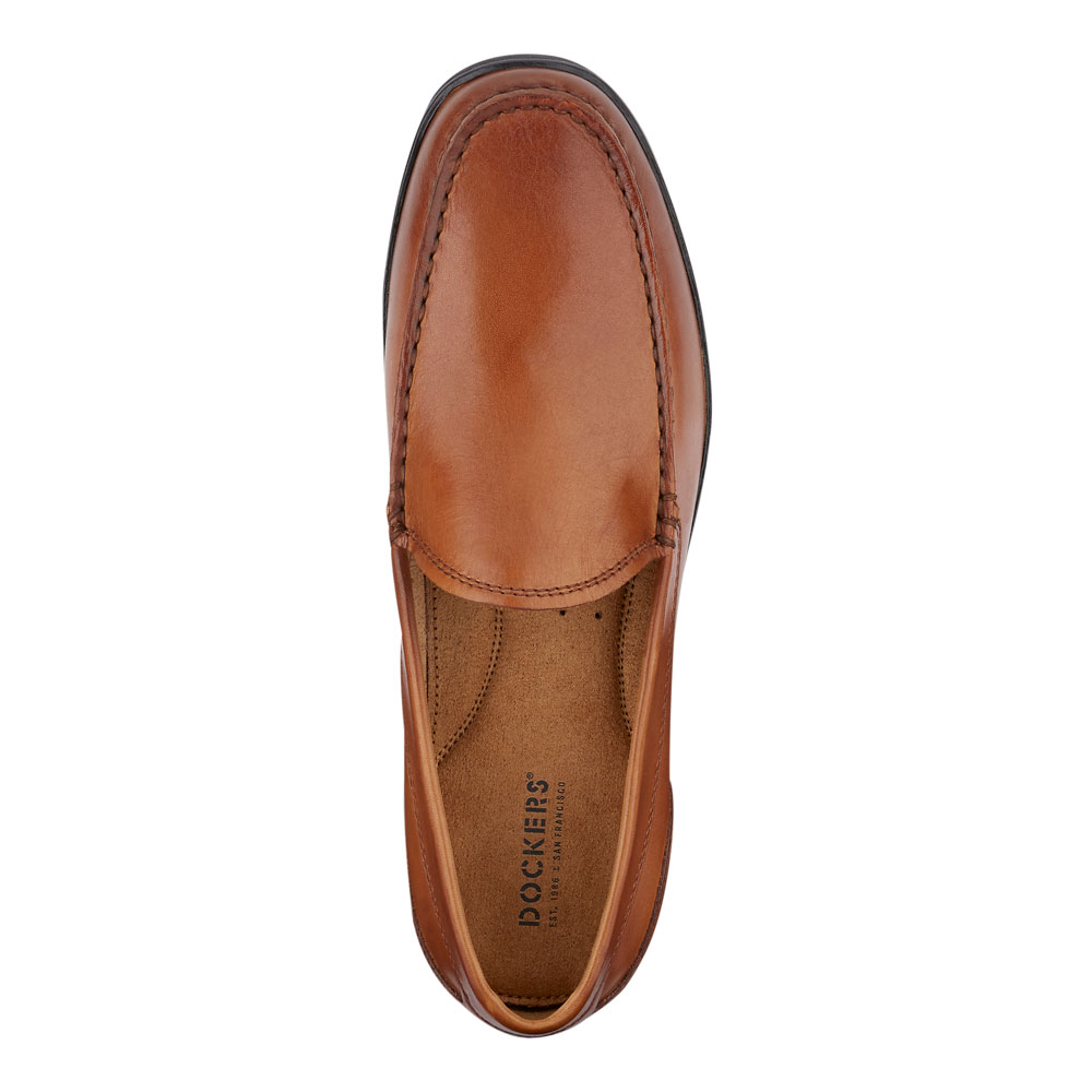 Dockers-Mens-Lindon-Genuine-Leather-Dress-Casual-Slip-on-Comfort-Loafer-Shoe thumbnail 20