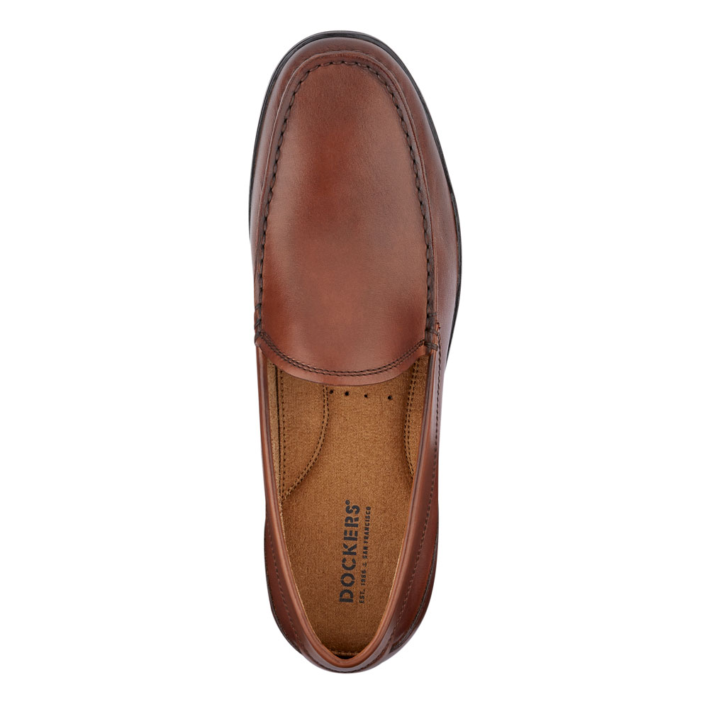 Dockers-Mens-Lindon-Genuine-Leather-Dress-Casual-Slip-on-Comfort-Loafer-Shoe thumbnail 8