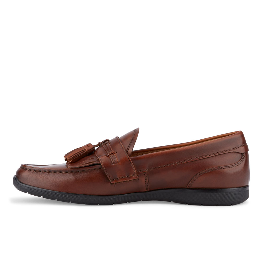 Dockers-Mens-Landrum-Genuine-Leather-Dress-Casual-Tassel-Slip-on-Loafer-Shoe thumbnail 11