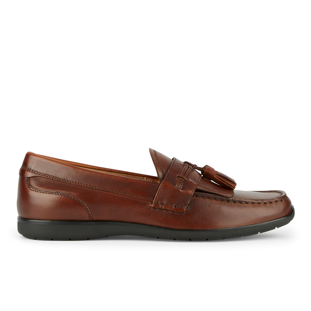 Dockers-Mens-Landrum-Genuine-Leather-Dress-Casual-Tassel-Slip-on-Loafer-Shoe thumbnail 12
