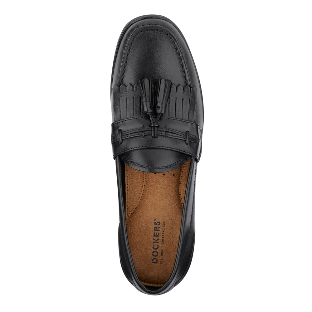 Dockers-Mens-Landrum-Genuine-Leather-Dress-Casual-Tassel-Slip-on-Loafer-Shoe thumbnail 14
