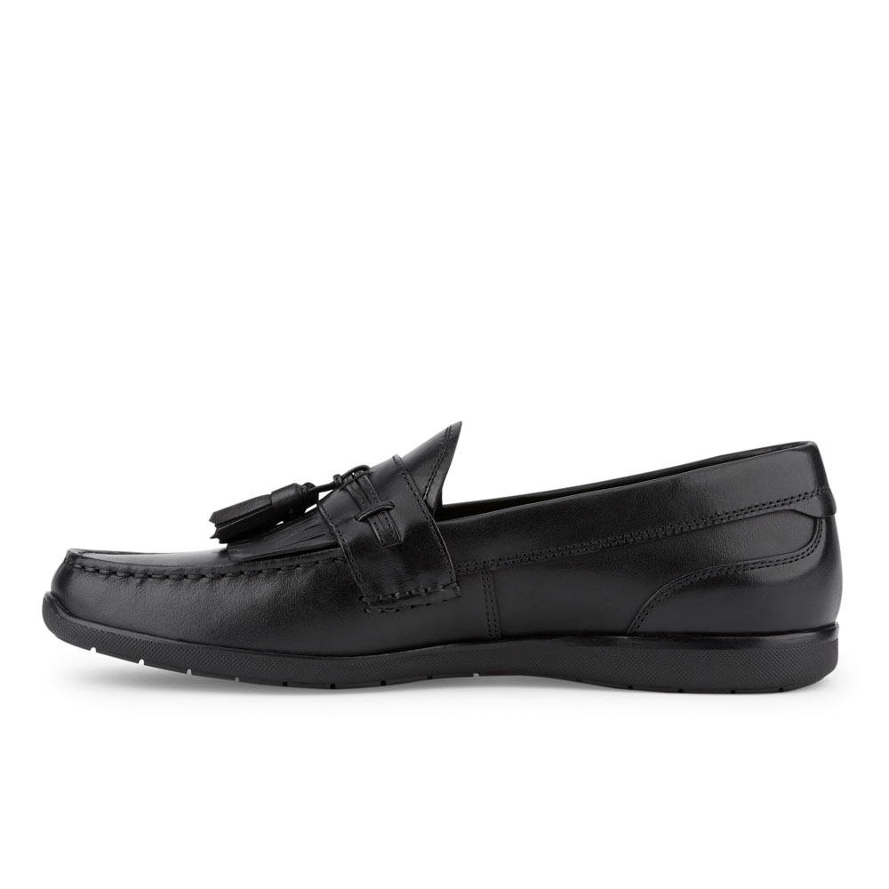 Dockers-Mens-Landrum-Genuine-Leather-Dress-Casual-Tassel-Slip-on-Loafer-Shoe thumbnail 17
