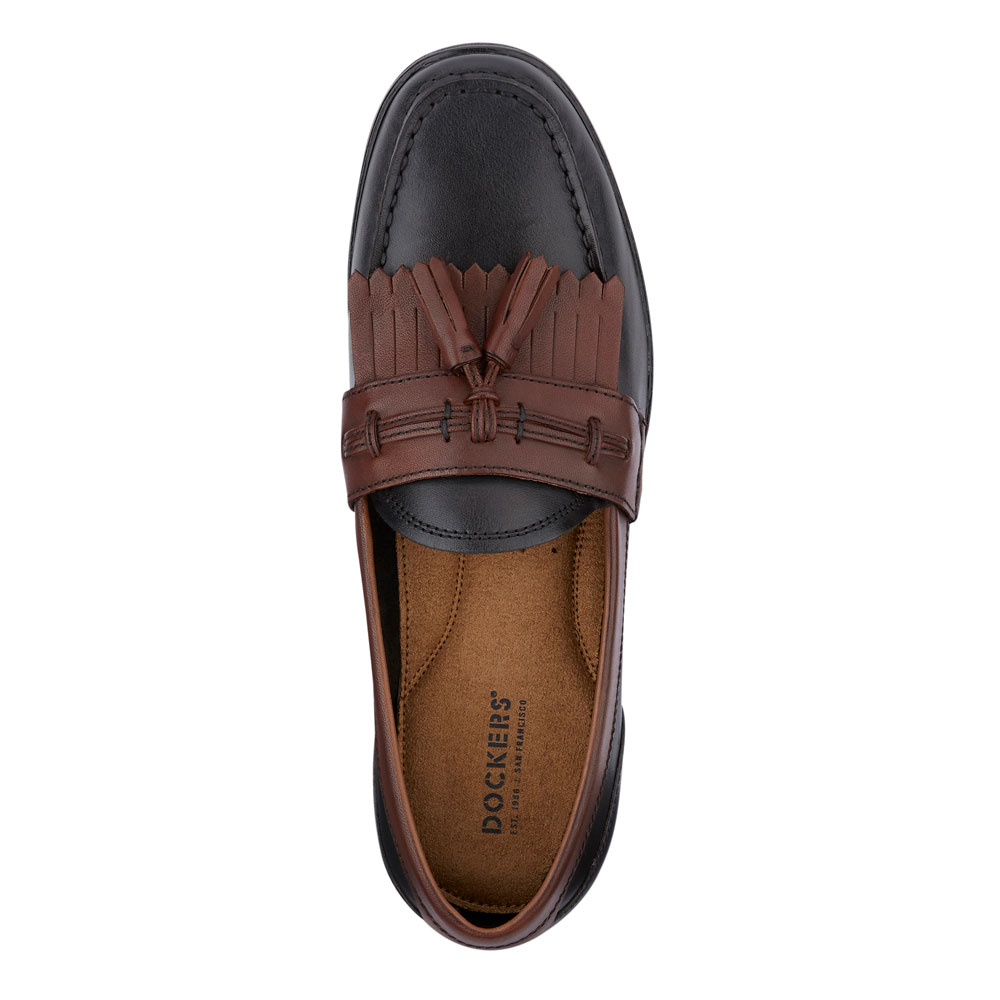 Dockers-Mens-Landrum-Genuine-Leather-Dress-Casual-Tassel-Slip-on-Loafer-Shoe thumbnail 20