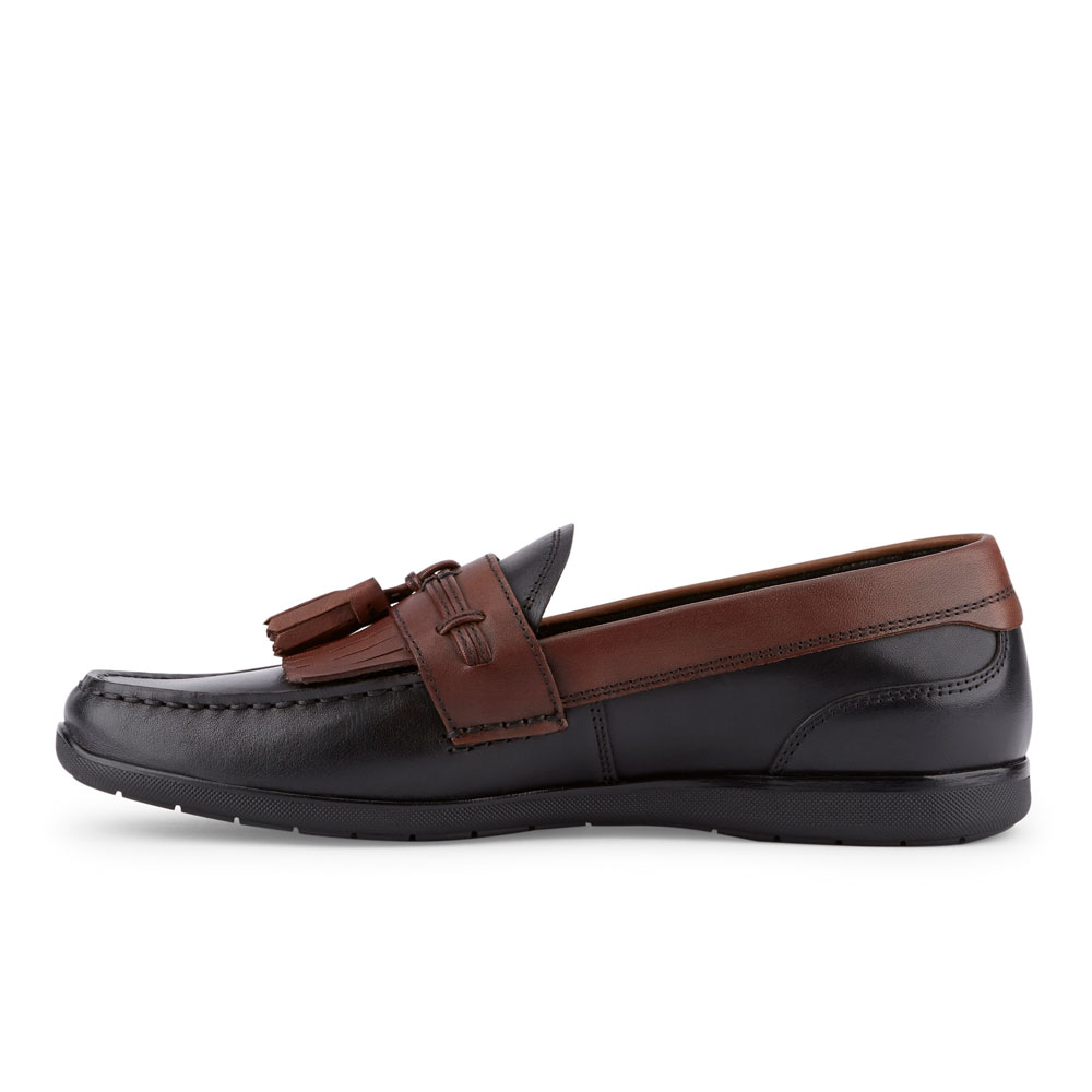 Dockers-Mens-Landrum-Genuine-Leather-Dress-Casual-Tassel-Slip-on-Loafer-Shoe thumbnail 23