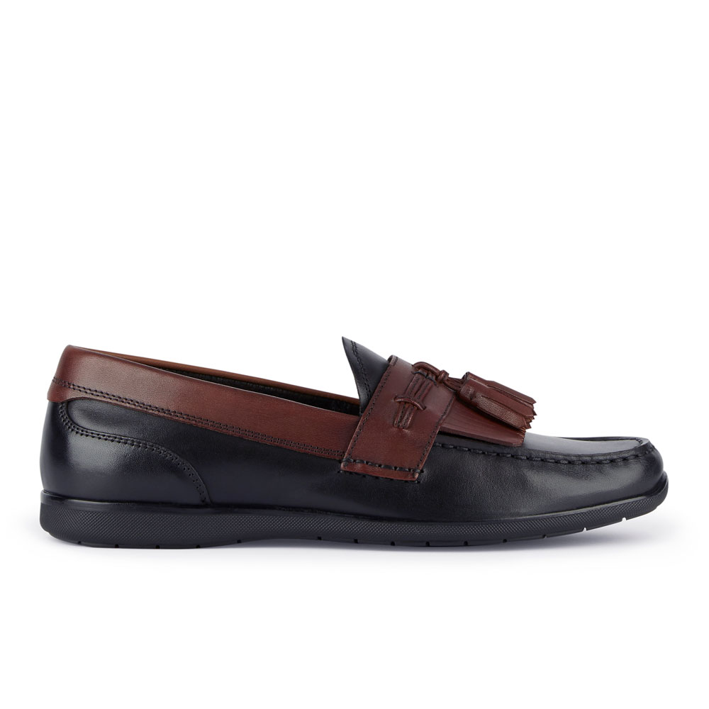 Dockers-Mens-Landrum-Genuine-Leather-Dress-Casual-Tassel-Slip-on-Loafer-Shoe thumbnail 24