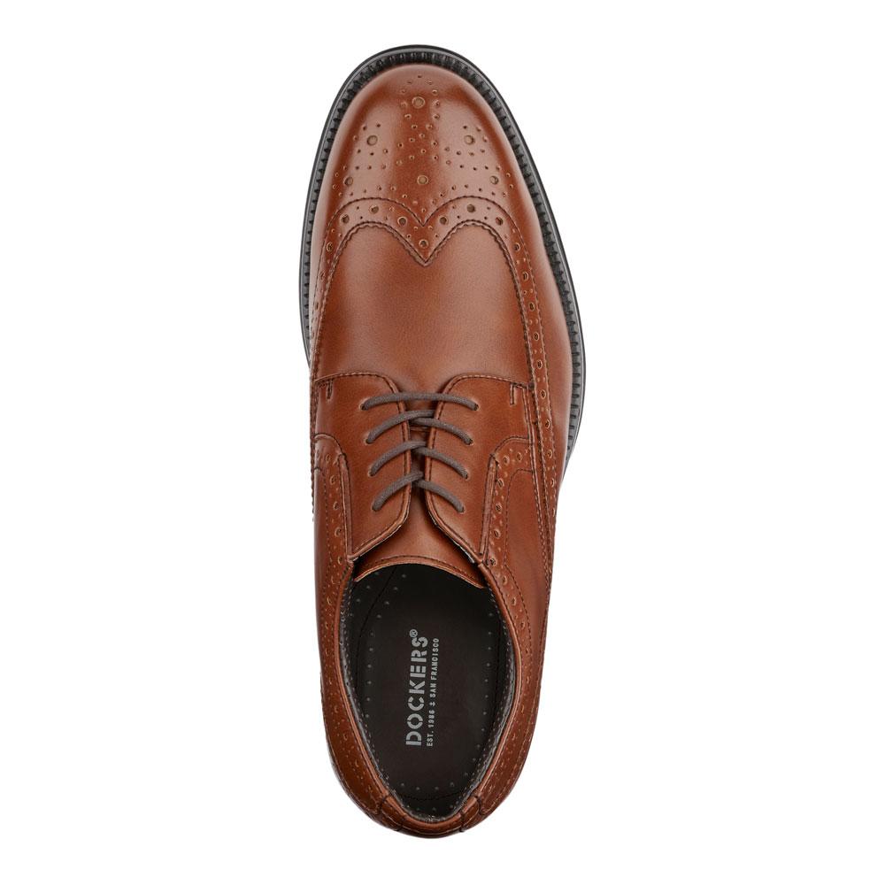 Dockers-Mens-Wycliff-Brogue-Dress-Wingtip-Lace-up-Comfort-Oxford-Shoe thumbnail 14