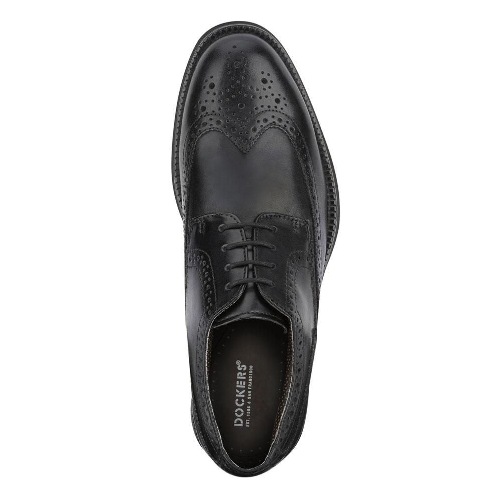 Dockers-Mens-Wycliff-Brogue-Dress-Wingtip-Lace-up-Comfort-Oxford-Shoe thumbnail 8