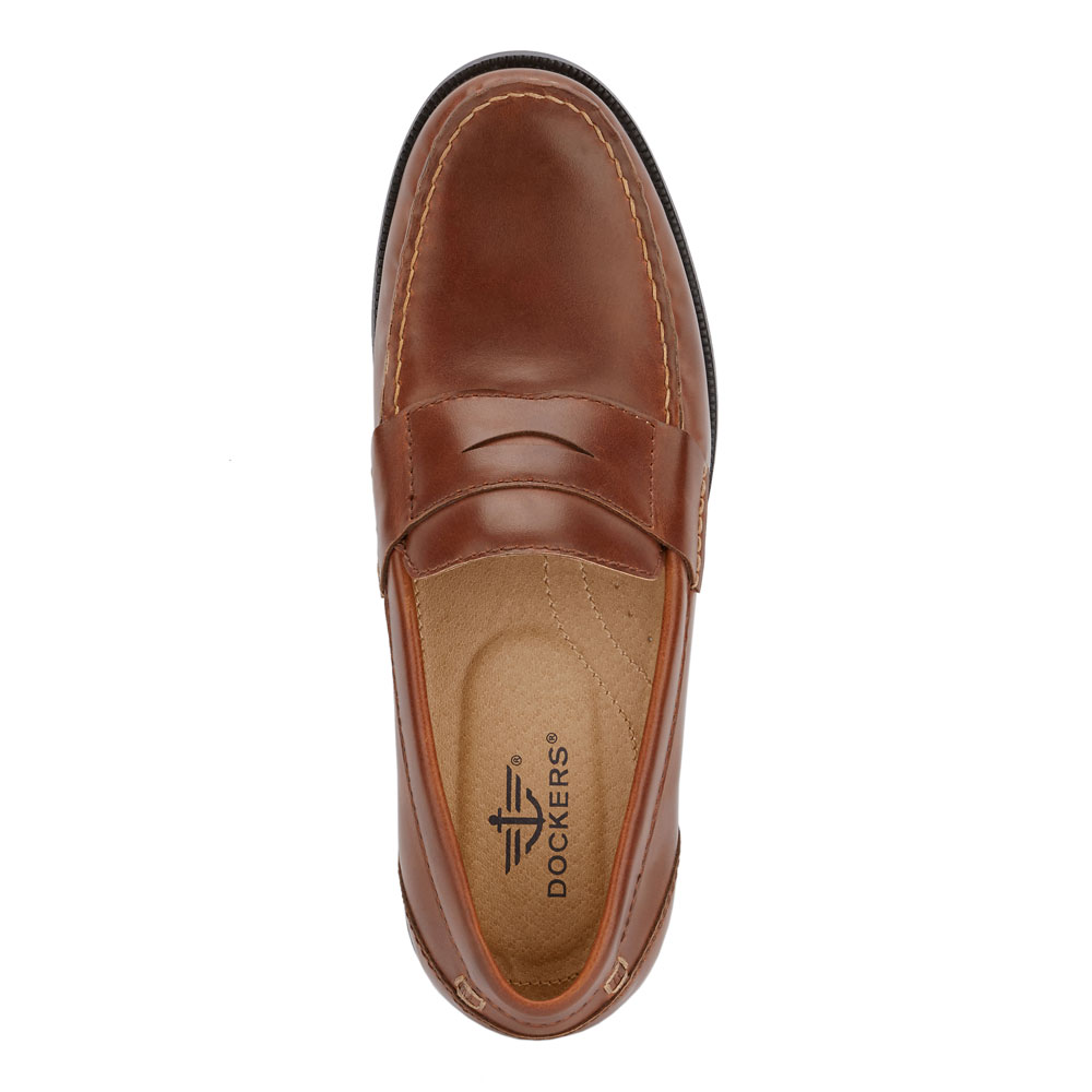 Dockers-Mens-Colleague-Business-Dress-Penny-Slip-on-Loafer-Shoe thumbnail 14
