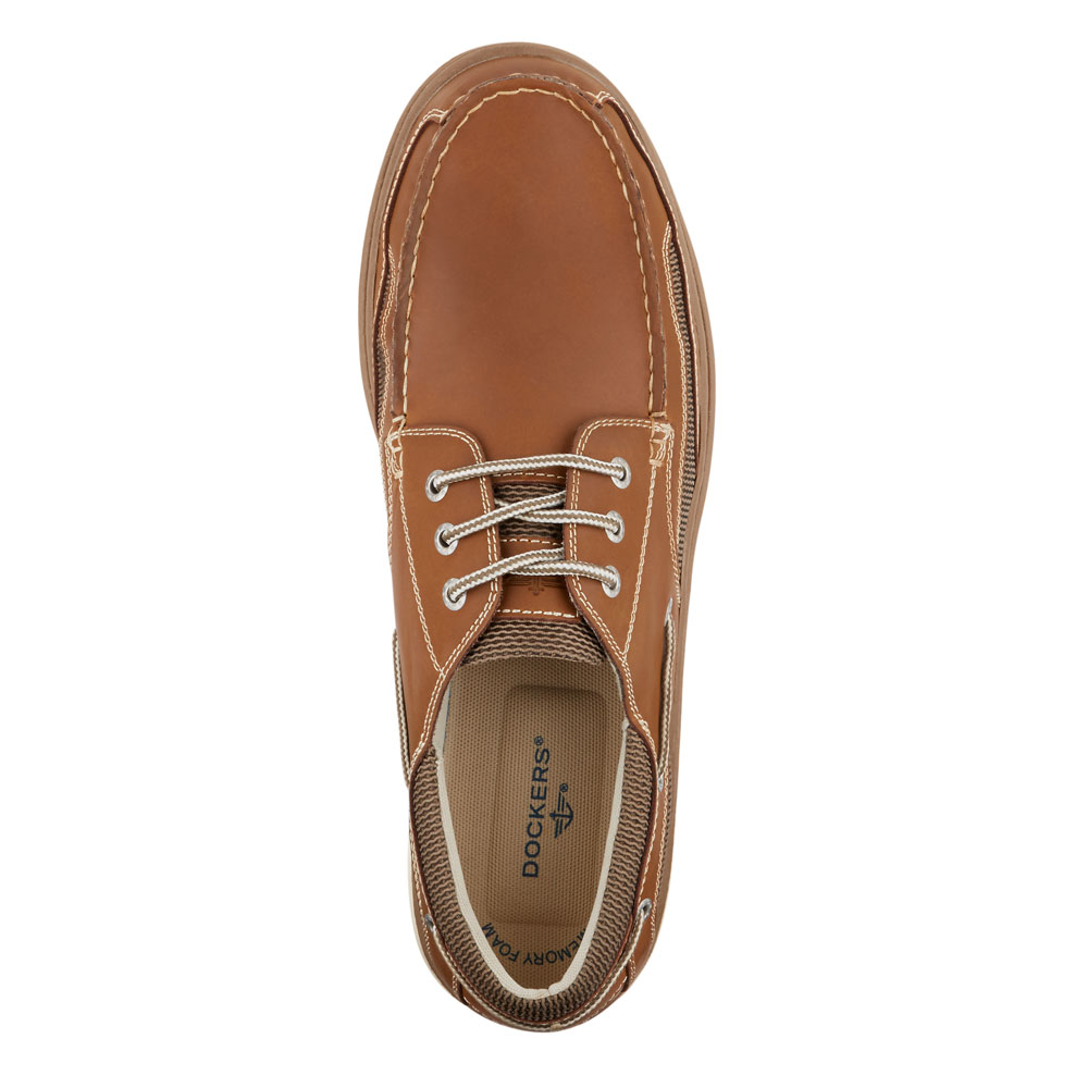 Dockers-Mens-Lakeport-Genuine-Leather-Casual-Rubber-Sole-Sport-Boat-Shoe thumbnail 8