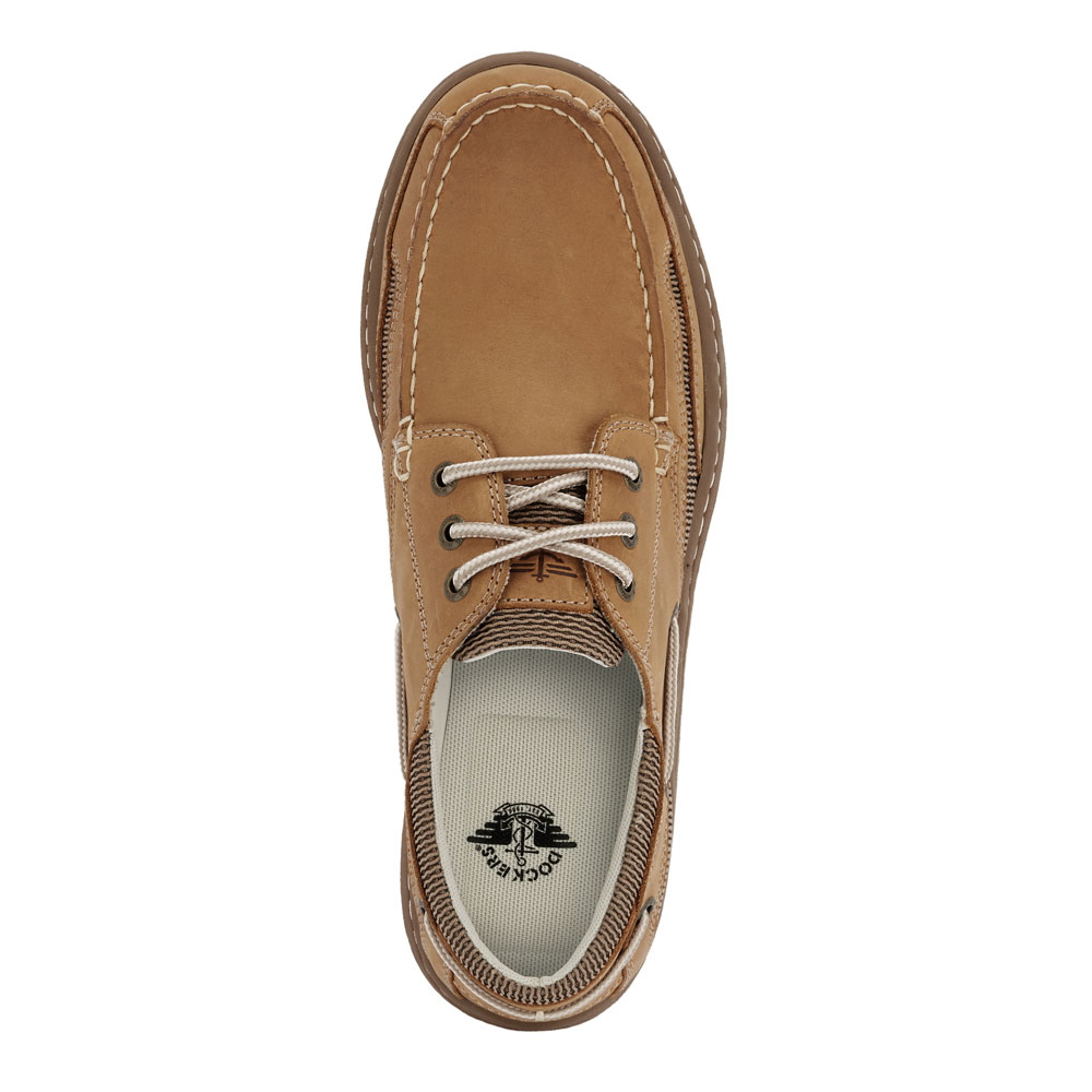 Dockers-Mens-Lakeport-Genuine-Leather-Casual-Rubber-Sole-Sport-Boat-Shoe thumbnail 14