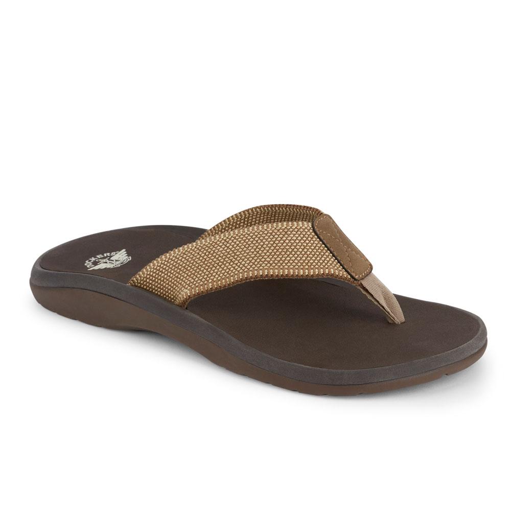 3b0f769668c0 Dockers Mens Skipper Casual Flip-Flop Thong Sandal Shoe with Smart ...