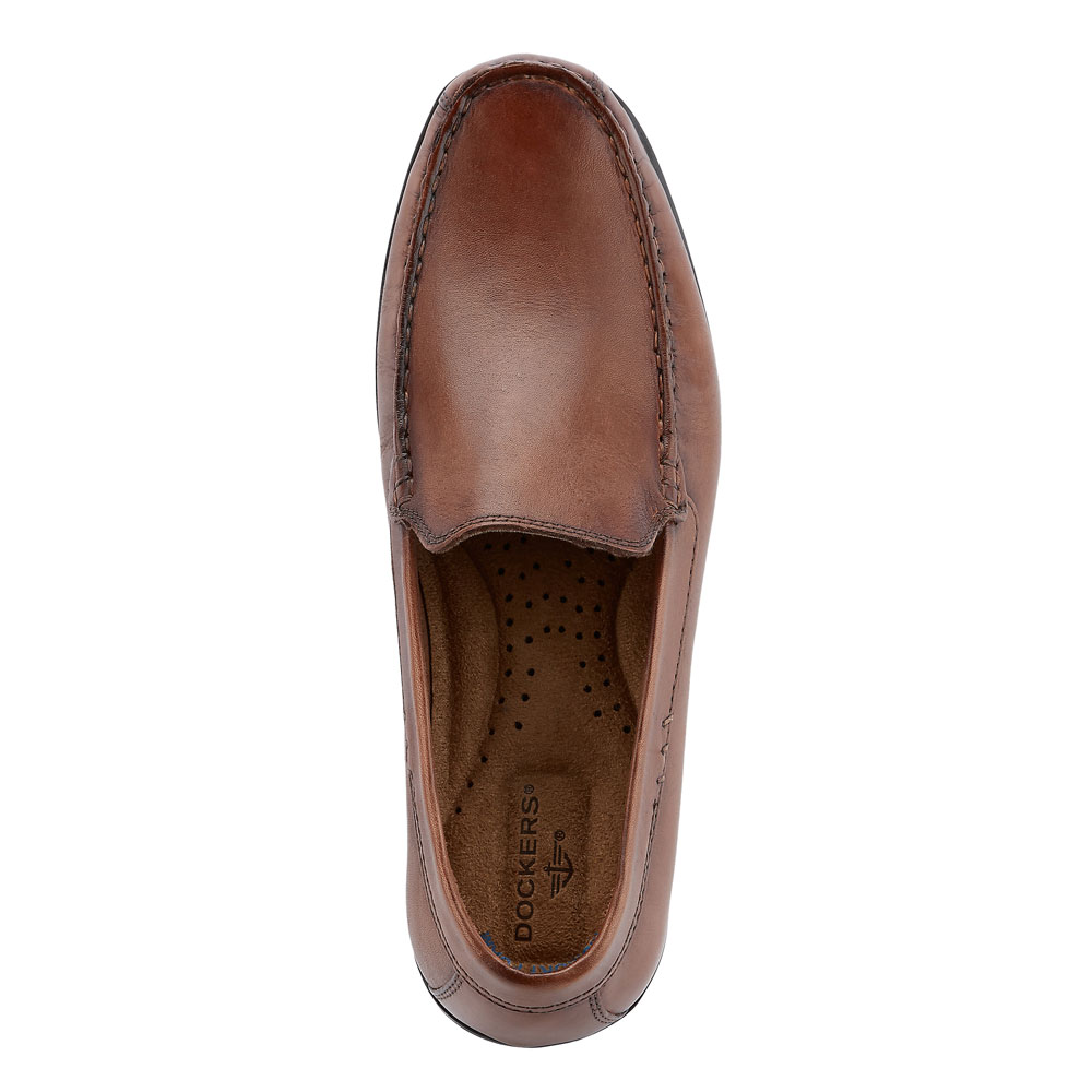 Dockers-Mens-Montclair-Genuine-Leather-Casual-Slip-on-Comfort-Loafer-Driver-Shoe thumbnail 8
