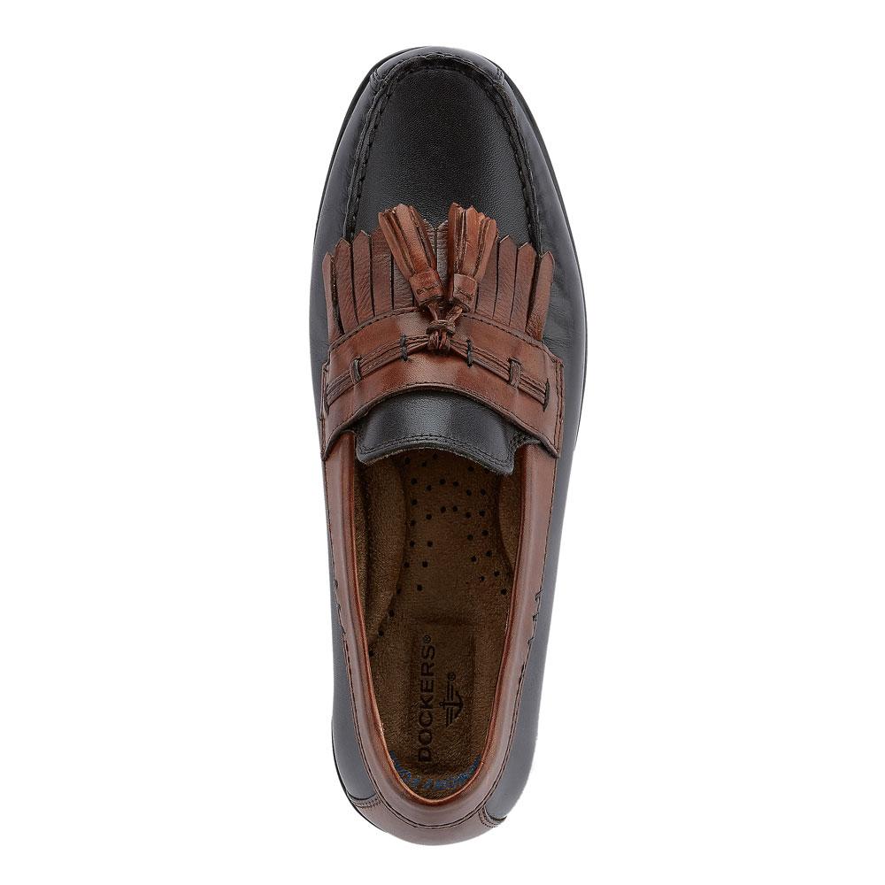 Dockers-Mens-Freestone-Genuine-Leather-Dress-Casual-Tassel-Slip-on-Loafer-Shoe thumbnail 14