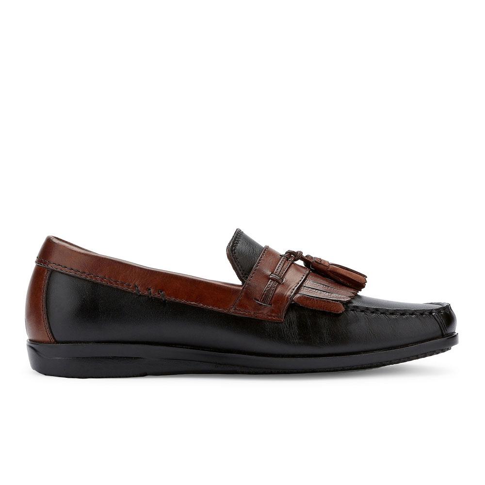 Dockers-Mens-Freestone-Genuine-Leather-Dress-Casual-Tassel-Slip-on-Loafer-Shoe thumbnail 18