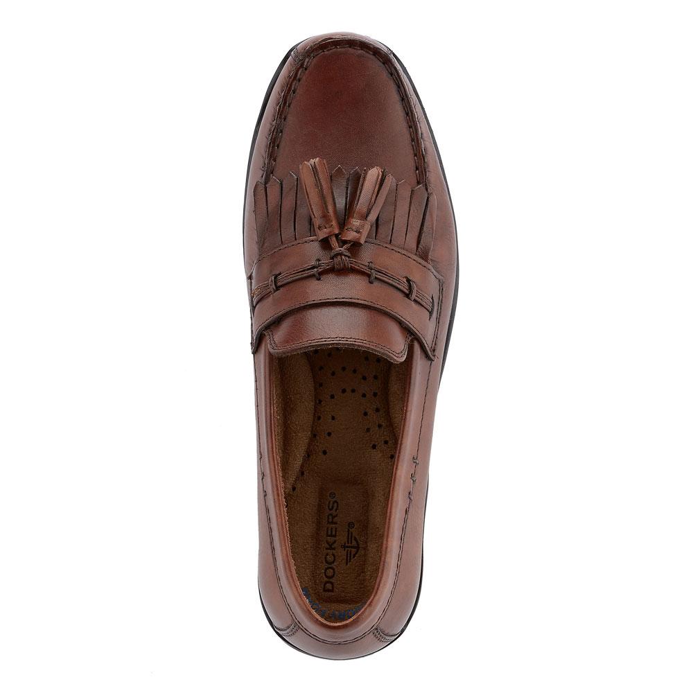 Dockers-Mens-Freestone-Genuine-Leather-Dress-Casual-Tassel-Slip-on-Loafer-Shoe thumbnail 8