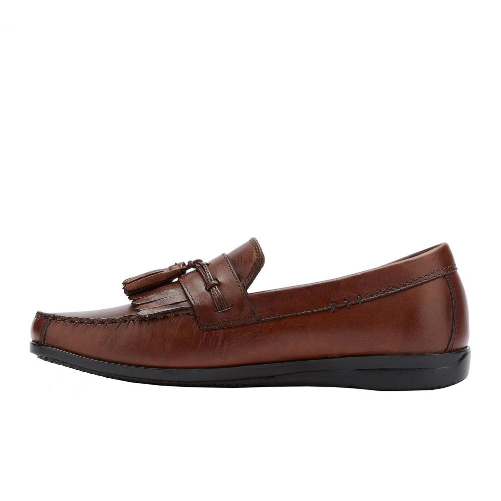 Dockers-Mens-Freestone-Genuine-Leather-Dress-Casual-Tassel-Slip-on-Loafer-Shoe thumbnail 11