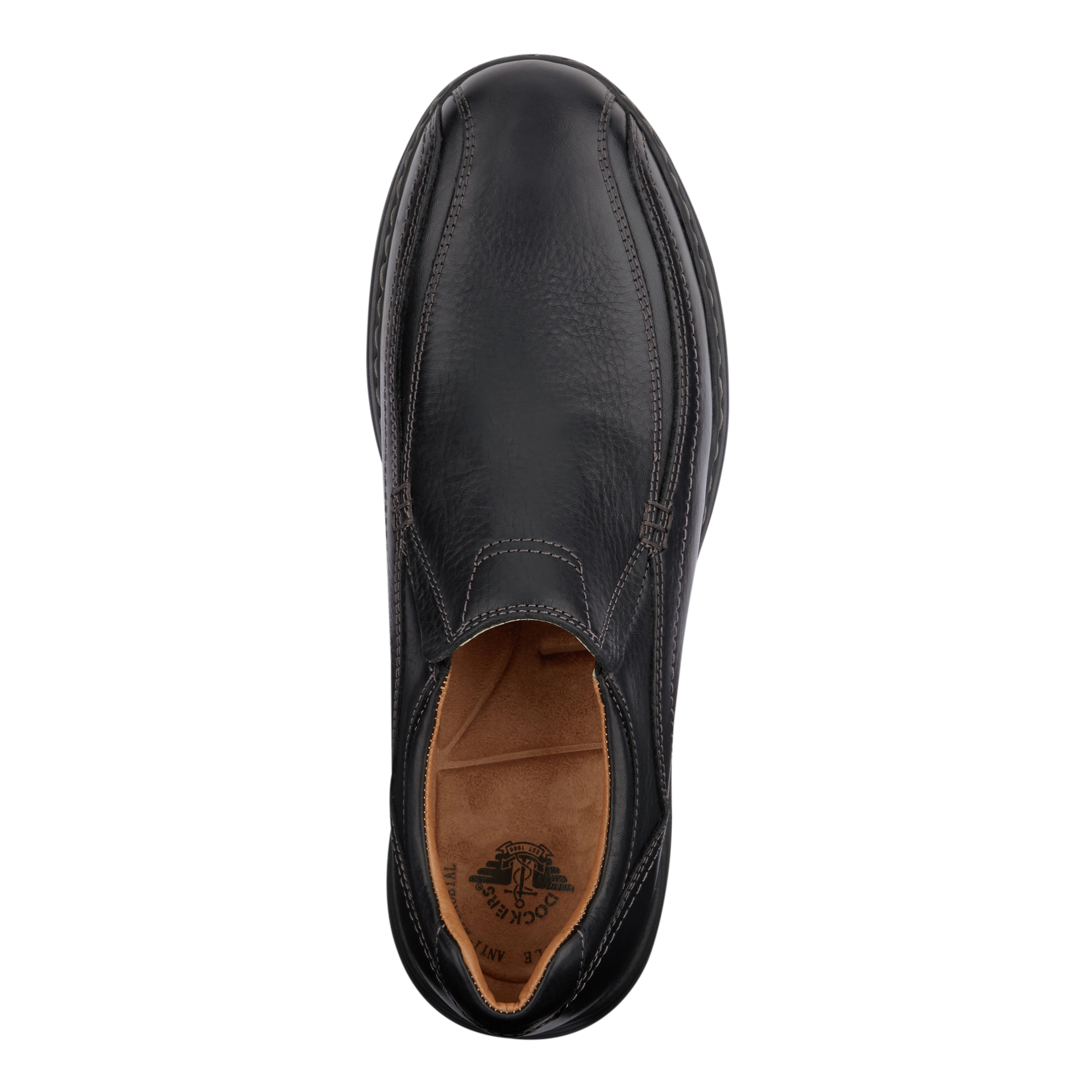 Dockers-Mens-Mosley-Genuine-Leather-Dress-Casual-Slip-on-Rubber-Sole-Shoe thumbnail 8