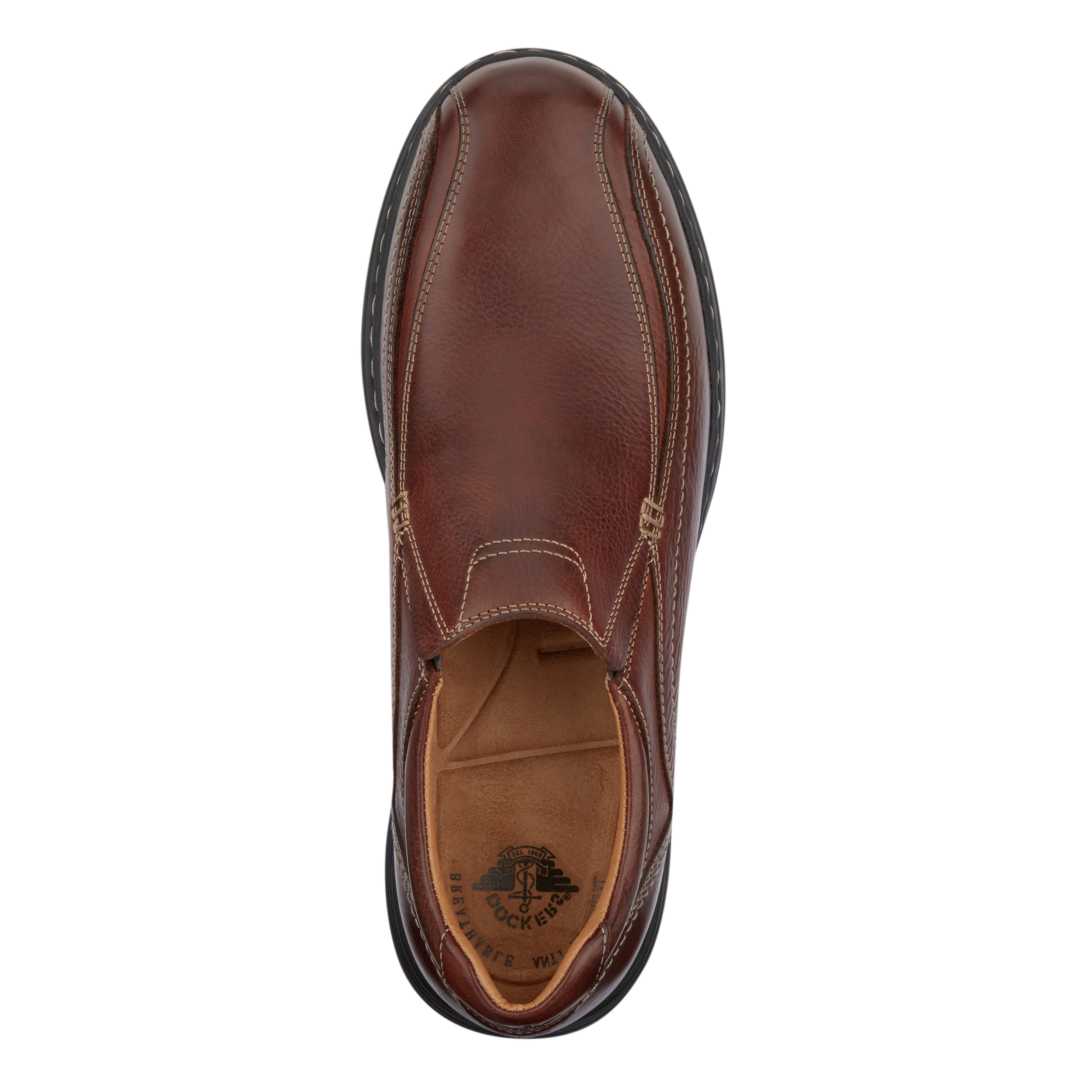 Dockers-Mens-Mosley-Genuine-Leather-Dress-Casual-Slip-on-Rubber-Sole-Shoe thumbnail 14