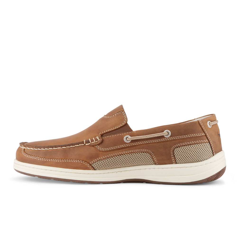 Dockers-Mens-Tiller-Leather-Casual-Slip-on-Loafer-Boat-Shoe-with-NeverWet thumbnail 11